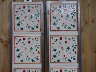 Victorian Style Reproduction Fireplace Tiles R044 Antique fireplace Company