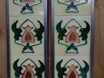 Reproduction Fireplace Tiles R053 Oldfireplaces
