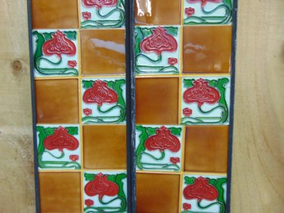 Reproduction Quarter Fireplace Tiles R062 The Antique Fireplace Company