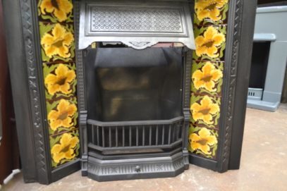 Victorian Tiled Insert 1972TI - Old Fireplaces