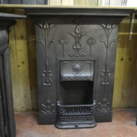 Art Nouveau Fireplace 1974LC - Antique Fireplace Co