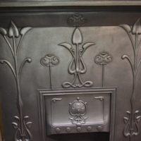 Art Nouveau Fireplace 1974LC - Antique Fireplace Co