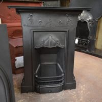 Reclaimed Art Nouveau Fireplace 1976MC - Old fireplaces