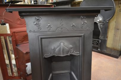 Reclaimed Art Nouveau Fireplace 1976MC - Old fireplaces