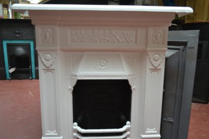 Painted Victorian 'The Scotia' Fireplace Old Fireplaces.