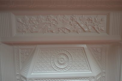 Painted Victorian 'The Scotia' Fireplace 1815MCOld Fireplaces.