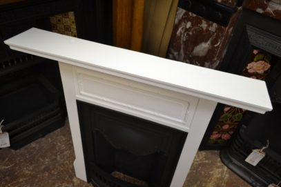 Painted Edwardian Bedroom Fireplace 1979B Old fireplaces.