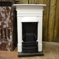 Painted Mini Edwardian FireAntique Fireplacesplace 1980B