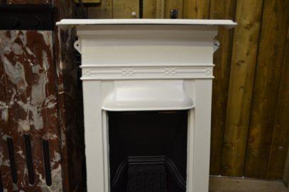 Painted Mini Edwardian FireAntique Fireplacesplace 1980B