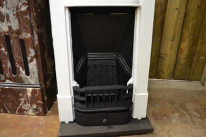 Painted Mini Edwardian Fireplace Antique Fireplaces