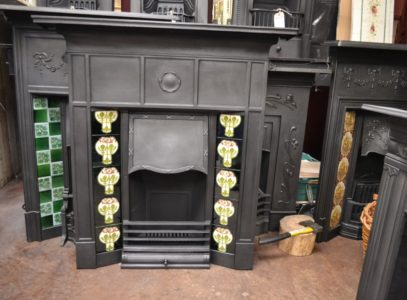 1920's Tiled Fireplace Oldfireplaces.