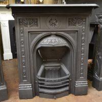 Pretty Victorian 'Primrose' Cast Iron Fireplace 1982MC Antique Fireplaces