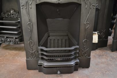 Art Nouveau Bedroom Fireplace 1983Bb Oldfireplaces