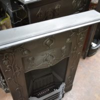 Attractive Art Nouveau Bedroom Fireplace 1983Be Oldfireplaces