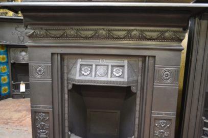 Victorian'Biclam' Cast Iron Antique FireplacesFireplace 1984LC