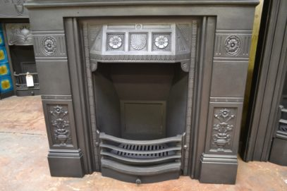 Victorian Cast Iron FireplAntique Fireplacesace 1984LC