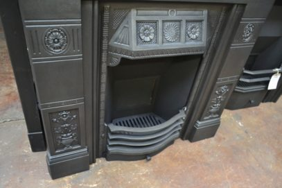 Victorian 'Biclam' Cast Iron Fireplace 1984LCAntique Fireplaces