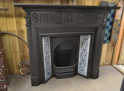 Late Victorian Cast Iron Surround 1985CSOld Fireplaces.