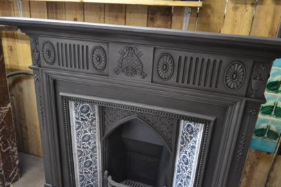 Late Victorian Cast Iron Surround 1985CS Old Fireplaces.