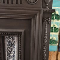 Late Victorian Cast Iron Surround Old Fireplaces.