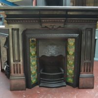 Late Victorian Fire Surround 1987CS Old Fireplaces.
