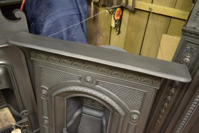 Victorian Cast Iron Fireplace - Old fireplaces 1993MC