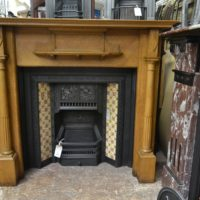 Late Victorian Oak Fire Surround 1996WS Antique Fireplace Company.