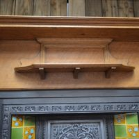 Late Victorian Oak Fire Surround Antique Fireplace Company.