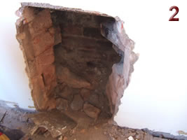 Knock out brickwork