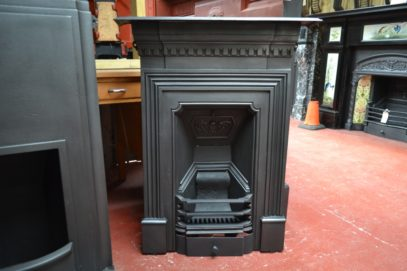 Late-Victorian Cast Iron Fireplace 2000B The Antique Fireplace Company