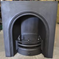 Early Victorian Arched Insert 2008AI Antique Fireplaces.