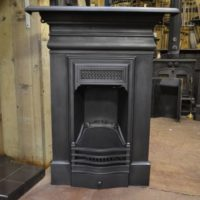 Late Victorian Cast Iron Fireplace 2011MC Old Fireplaces
