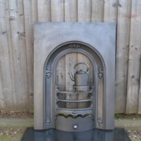 Early Victorian Bedroom Fireplace Insert 2014AI Antique Fireplace Company.
