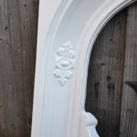 Early Victorian Painted Bedroom Fireplace Insert 2015AI Old Fireplaces.