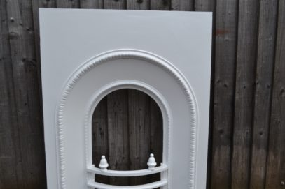 Painted Victorian Bedroom Arched Insert 2016AI Antique Fireplace Company.