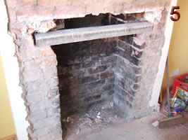 Reinforced concrete lintel - Old Fireplace Fireplace Fitting