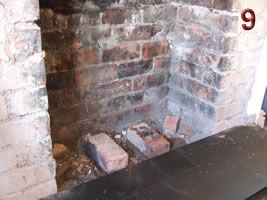 Laying the hearth - Fitting instructions