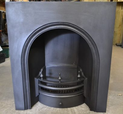 Early Victorian Arched Insert - 2008AI - The Antique Fireplace Company