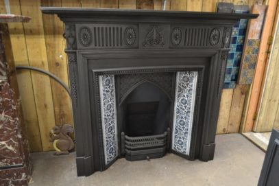 Victorian Cast Iron Surround - 1985CS - The Antique Fireplace Company