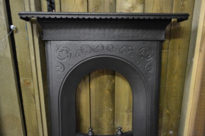 Early Victorian Bedroom Cast Iron Fireplace 1338B Antique Fireplace Company.