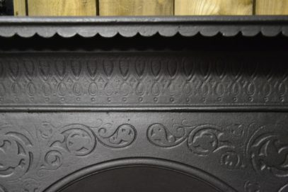 Early Victorian Bedroom Cast Iron Fireplace 1338BAntique Fireplace Company.
