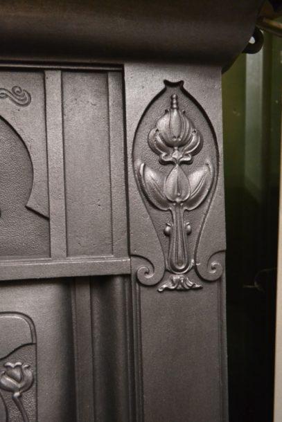 Art Nouveau Bedroom Fireplace 1494B Antique Fireplace Company.