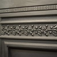 Reclaimed Reproduction Cast Iron Insert 2020IAntique Fireplace Company.