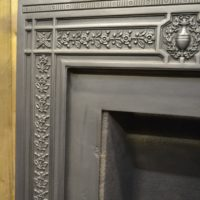 Reclaimed Reproduction Cast Iron Insert 2020I Antique Fireplace Company.