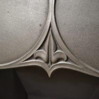 Original Art Nouveau Tiled Insert 2023TI Old Fireplaces
