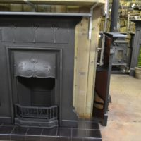 Art Nouveau Combination Large Fireplace 2025LCOld Fireplaces.