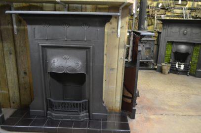 Art Nouveau Combination Large Fireplace 2025LCOld Fireplaces.