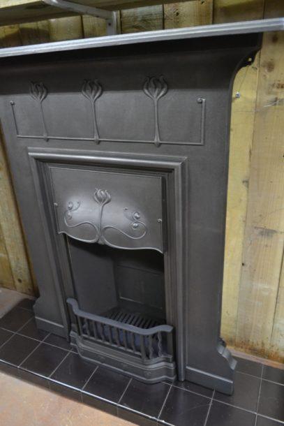 Art Nouveau Combination Fireplace 2025LCOld Fireplaces.