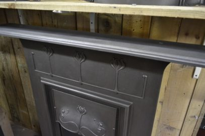 Art Nouveau Combination Fireplace 2025LC Old Fireplaces.