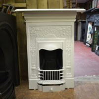 Painted Art Nouveau Bedroom Fireplace 2026B Antique Fireplaces.